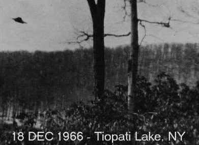 UFO 18 December 1966 Tiopati Lake, NY