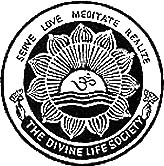 Crest logo & Link to Divine Life Society