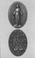 The Blessed Mother Mary Medallion